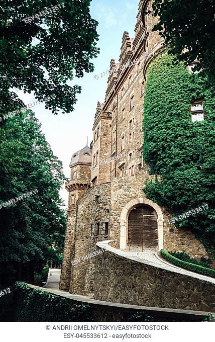 historical castle ksiaz in Swiebodzice Poland