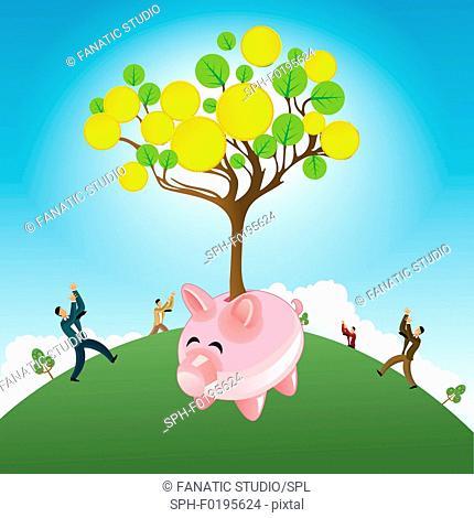 Investments, illustration