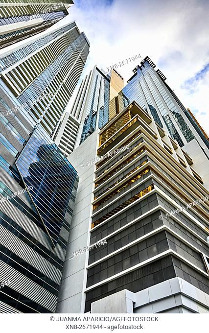 Modern Building at Panama City, Republic of Panama, Central America