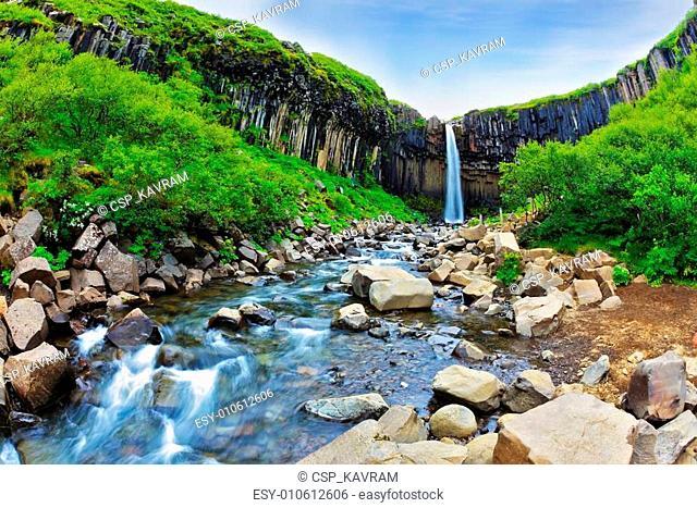 Skaftafell National Park of Iceland