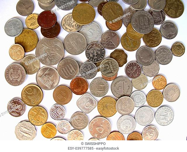 Collection of the old coins
