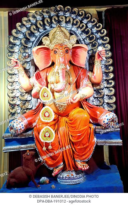 Idol of god ganesha India Asia