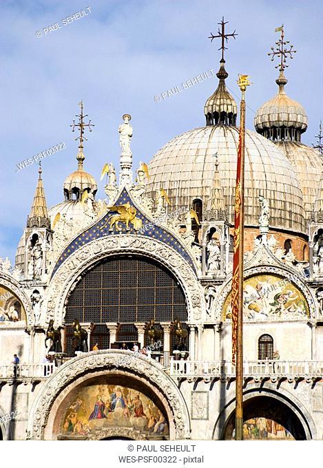 Italy, Venice, Basilica di San Marco
