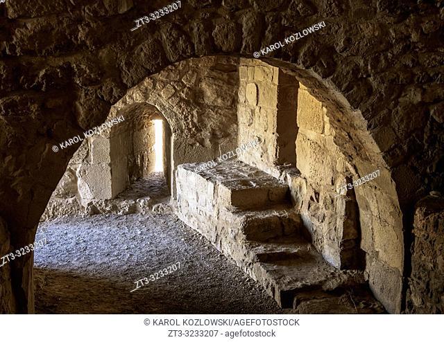 Kerak Castle, interior, Al-Karak, Karak Governorate, Jordan