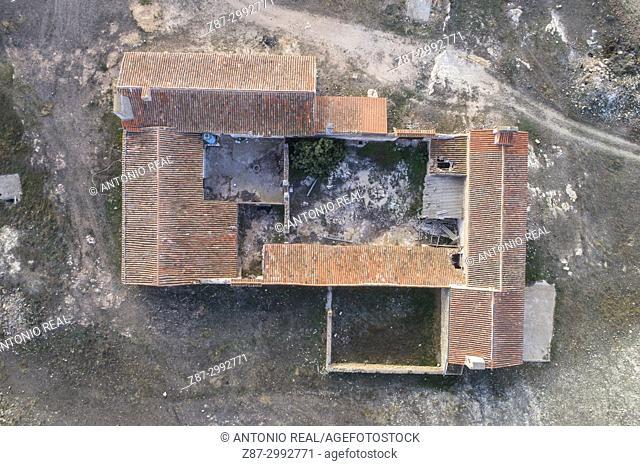 Farmhouse. Los Pozuelos. Almansa. Albacete province. Spain