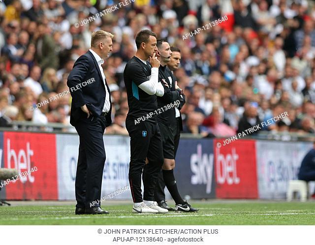 2019 EFL Championship Playoff final Aston Villa v Derby County May 27th. 27th May 2019, Wembley Stadium, London, England; Championship Playoff final