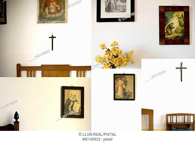 Saint, Cross, Sacred Bedroom