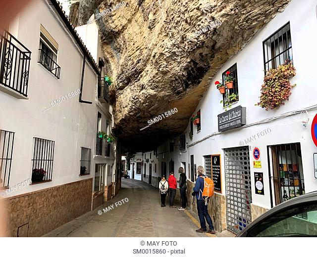 Setenil de las Bodegas, Málaga, Spain, Europe