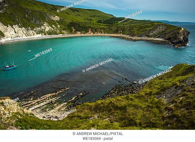 Lulworth Cove, Lulworth, Jurassic Coast, Dorset, England, UK