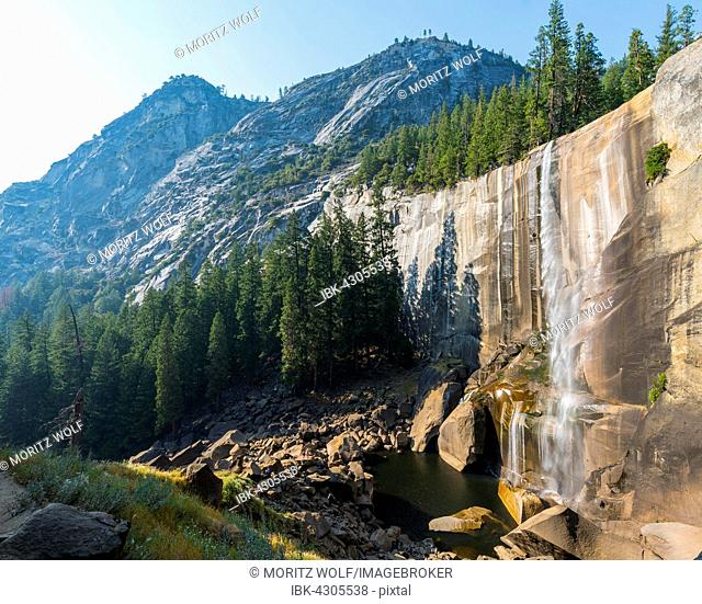 Vernal Fall, Yosemite Valley, Yosemite National Park, UNESO World Heritage Site, California, USA