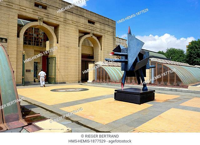South Africa, Gauteng province, Johannesburg, CBD (Central Business District), the Johannesburg Art Gallery