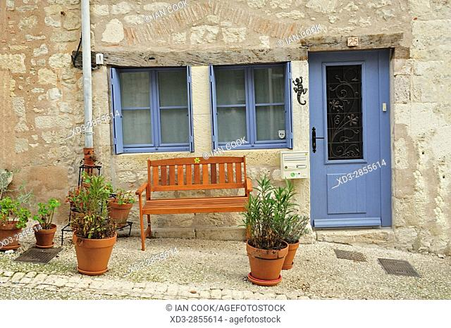 Monflanquin, Lot-et-Garonne Department, Aquitaine, France