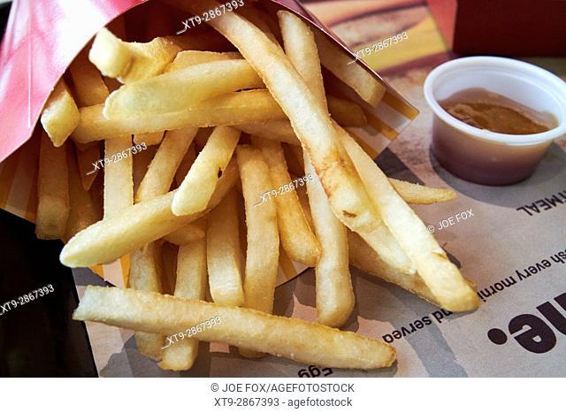 McDonalds fries and sauce usa