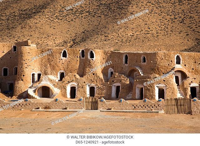 Tunisia, Ksour Area, Matmata, Diaramor Museum, landscape