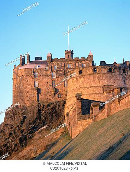 Edinburgh Castle. Edinburgh. Scotland