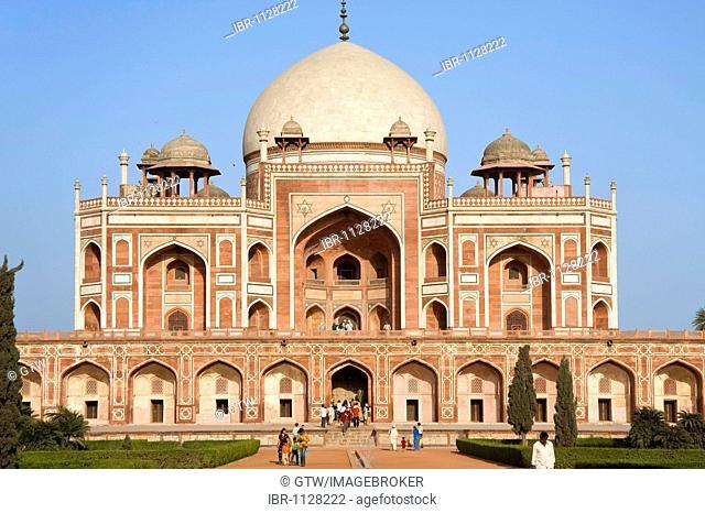 Humayun's Tomb, Unesco World Heritage Site, Delhi, India