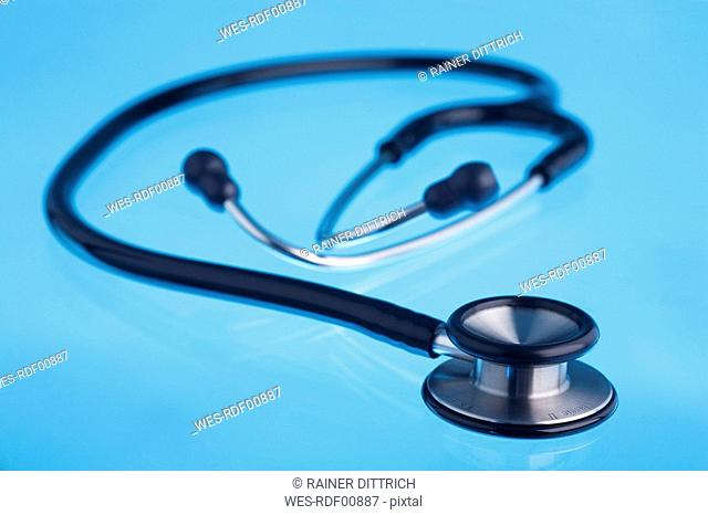 Stethoscope, close-up
