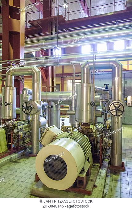 machinery in energy plant in Holland