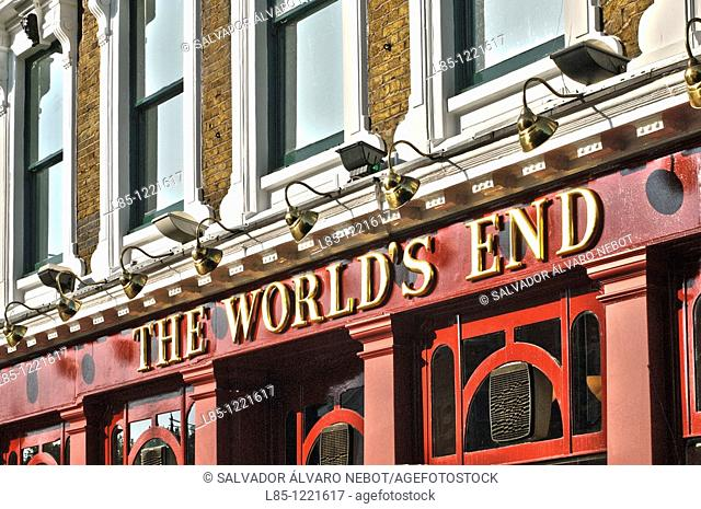 English Pub, Camden Town, London, England, Europe