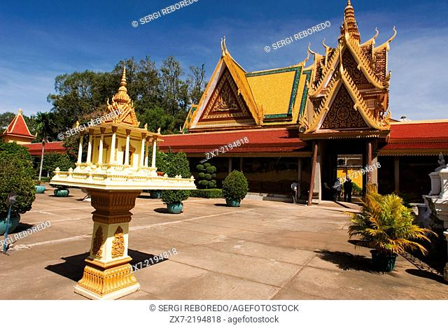 Royal Palace. Phnom Penh. The Royal Palace in Phnom Penh was constructed over a century ago to serve as the residence of the King of Cambodia