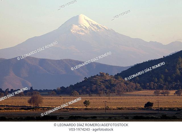 The highest mountain in Mexico named Pico de Orizaba