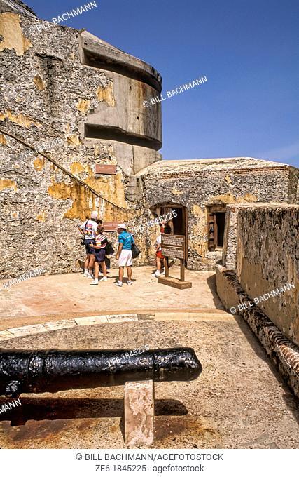 Castle of Morro Old San Juan Puerto Rico