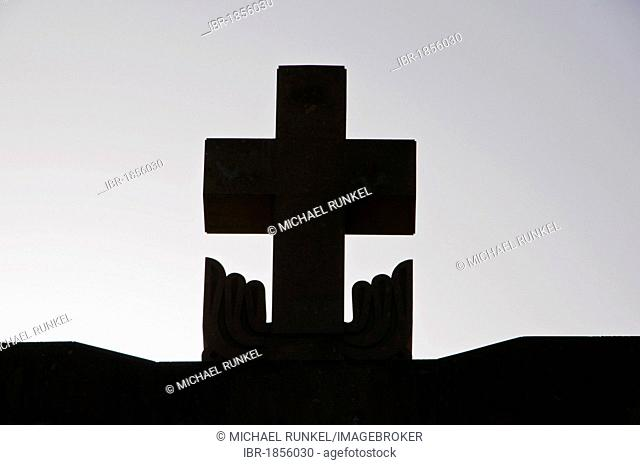 Cross on the roof of the Surp Grigor Lusavorich Cathedral, Yerevan, Armenia, Middle East