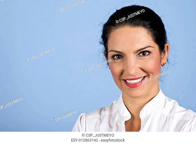 Portrait of beautiful confident businesswoman