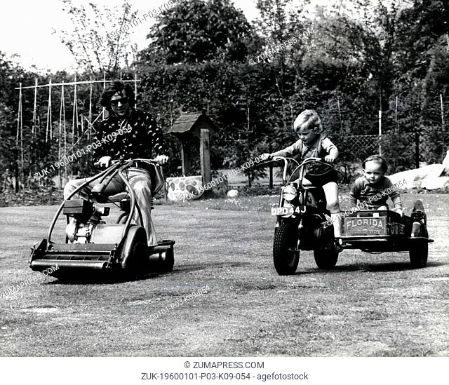 Dec. 15, 1973 - Phil Read's Son - The 4 year Old Motor Bike Fiend - Pip, the Son of motor-Cycle World Champion Phil Read simply can't wait until his legs are...