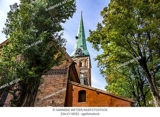 St. James's Cathedral in Rigam Latvia, Europe