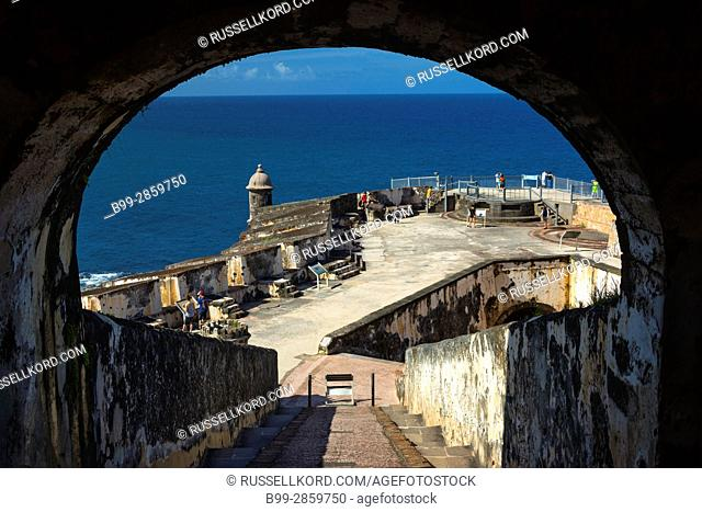 ARCHWAY CASTILLO SAN FELIPE DEL MORRO OLD CITY SAN JUAN PUERTO RICO
