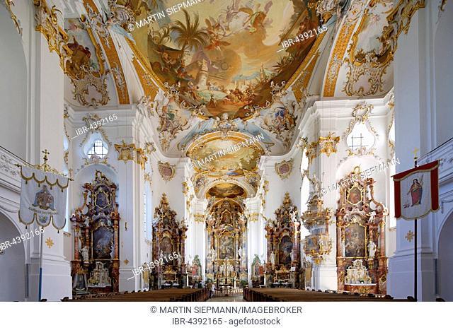 Roggenburg Abbey, Roggenburg, Swabia, Bavaria, Germany