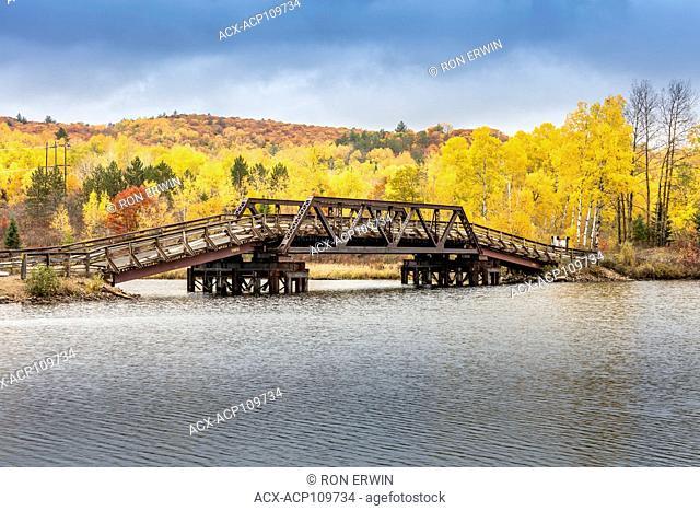 Bridge over the Madawaska River, Madawaska, Ontario, Canada