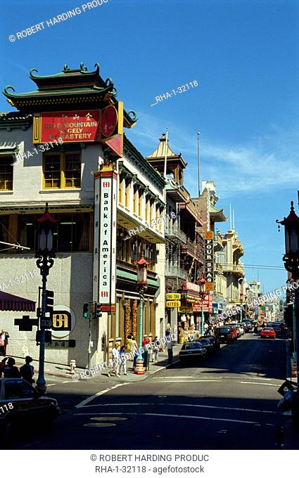 Chinatown, San Francisco, California, United States of America, North America