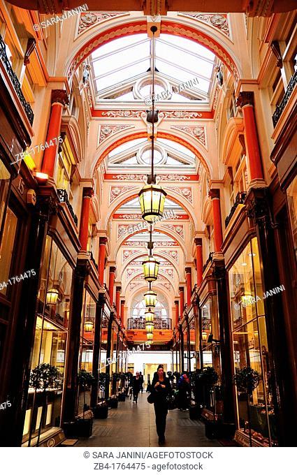 The Royal Arcade, Mayfair, London, England, UK, Europe