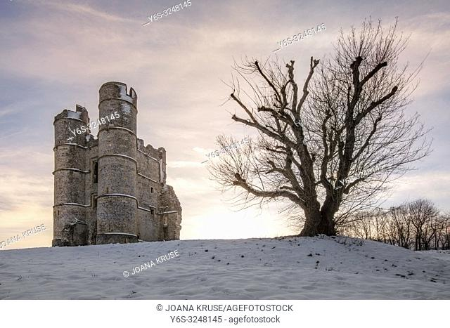 Donnington Castle, Newbury, Berkshire, England, UK