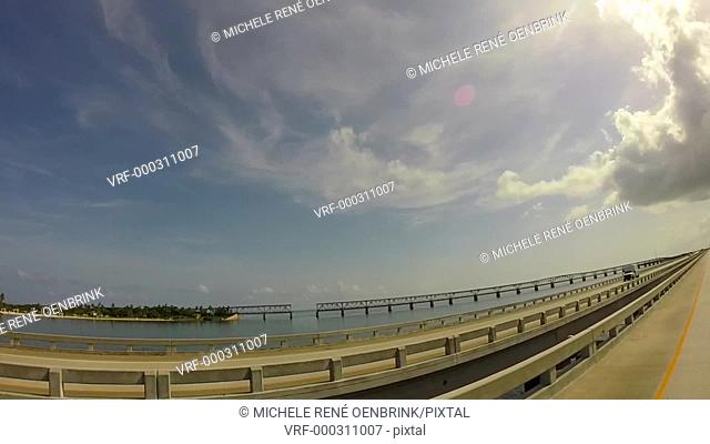 Old Bahia Honda bridge in the Florida Keys