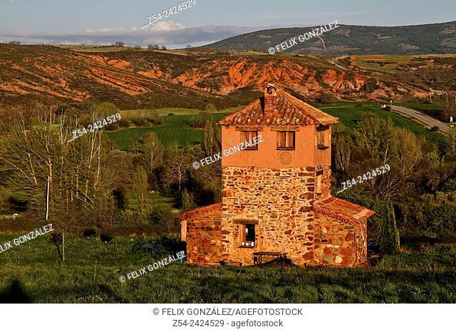 House at Villacorta, Segovia, Castile and Leon, Spain