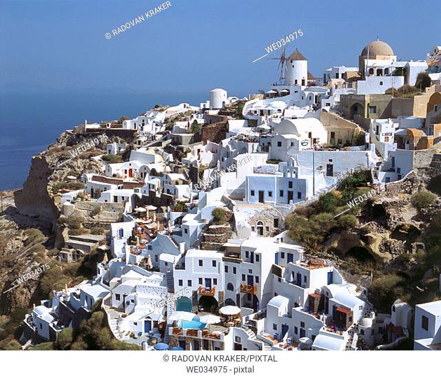 Oia, Santorini island, Cyclades, Greece