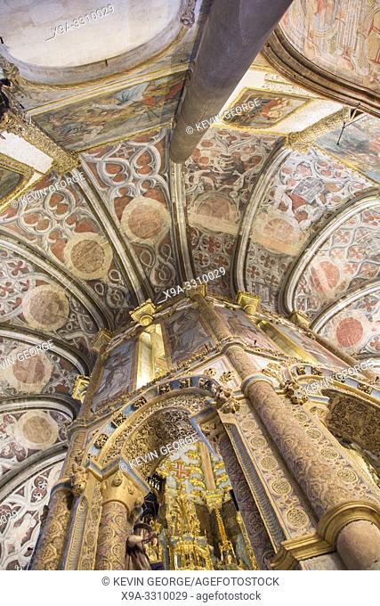 Church, Convento de Cristo; Tomar; Portugal