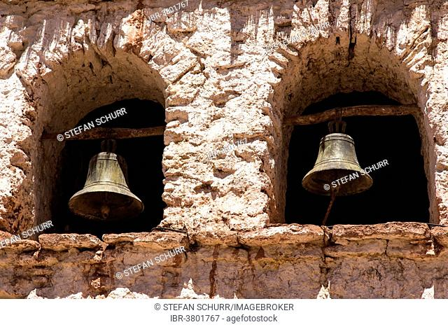 Church bells of Machuca, Andes, Atacama Desert, Chile