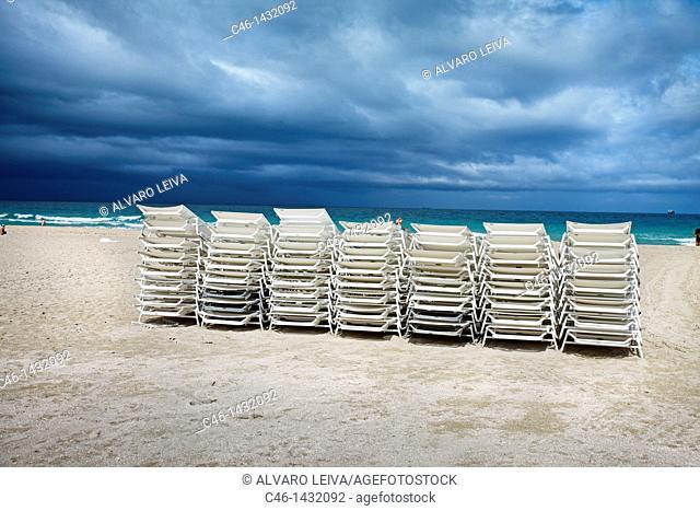South Beach, Art deco district, Miami beach, Florida, USA