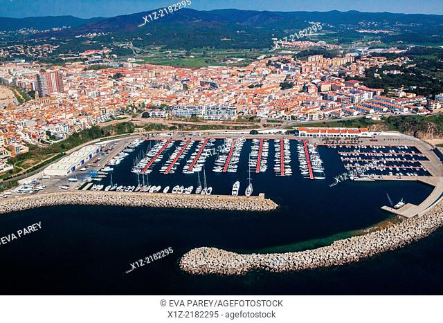 The Marina of Palamós. The harbor of Palamos