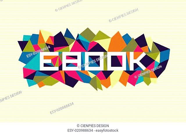 Trendy abstract geometric design