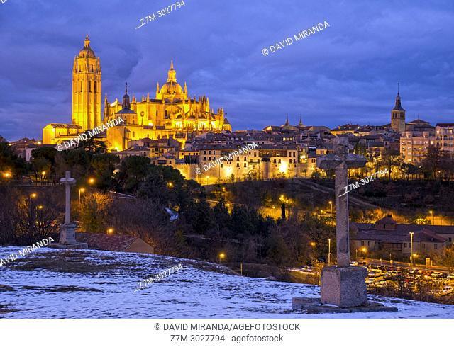 Catedral de Segovia. Castile-Leon, Spain
