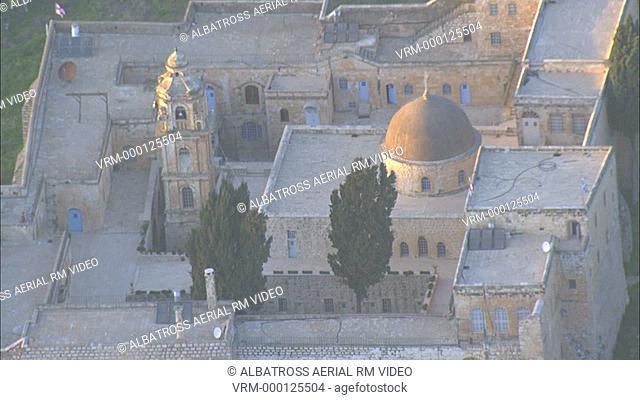 Monastery of the Cross; Jerusalem; Israel. Byzantine monastery. Dome