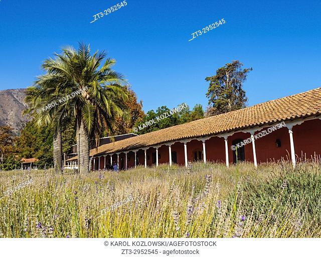 Santa Rita Winery, Alto Jahuel, Buin, Santiago Metropolitan Region, Chile