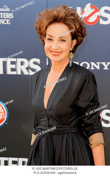 Annie Potts at the Los Angeles Premiere of Columbia Pictures' Ghostbusters held at TCL Chinese Theater in Hollywood, CA, July 9, 2016
