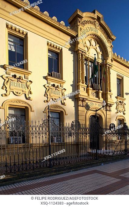 Laboratorio Municipal building 1912, design by the architect Antonio Arevalo Martinez, Seville, Spain