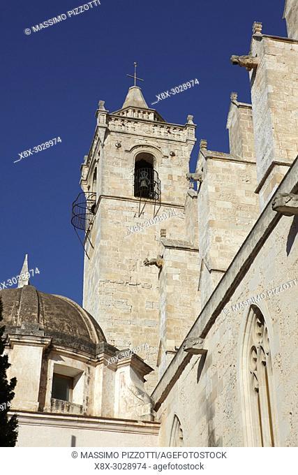 Belfry of the Cathedral of Ciutadella de Menorca, Balearic Islands, Spain